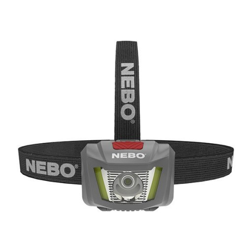 NEBO® DUO Headlamp  allpowerful, hands-free lighting solution.