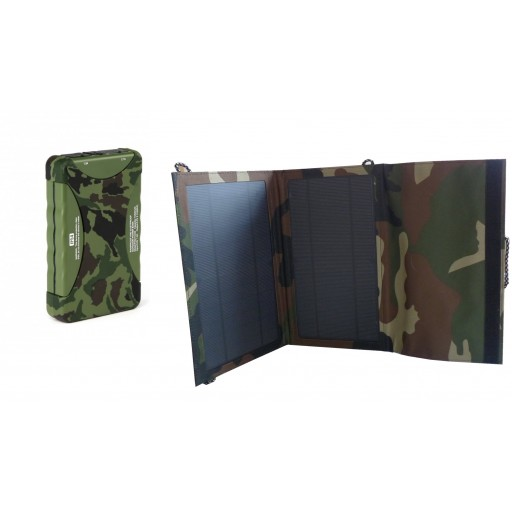 Expedition Solar Panel and Power bank Total Solution