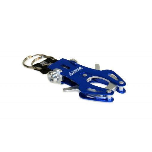 Spring Clip Carabiner Keyring