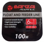 Banzai Float and Feeder Fishing Line 6LB