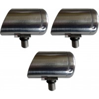 3 X 3cm Horizon Stainless Steel Specialist Butt Cup for Rod Pods