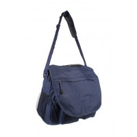 Blue  poachers bag ideal for walking, fishing and student shoulder bag
