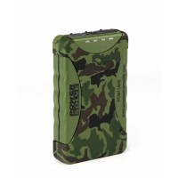 Powersolve PCM11AH2 Rainproof and Dustproof Outdoor Camouflage Power Bank, 11200 MAH Capacity