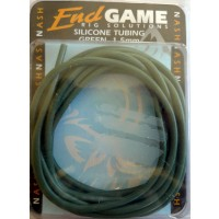 Nash End Game Silicon Tubing 1.5mm Green
