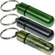 Emergency Cash Stash Capsule Key-ring Assorted Colours