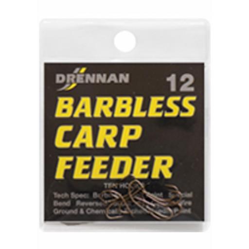 drennan barbless carp feeder Size 8