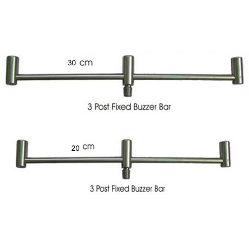 Solid Stainless Steel Front and Rear 3 Rod Buzz Bars