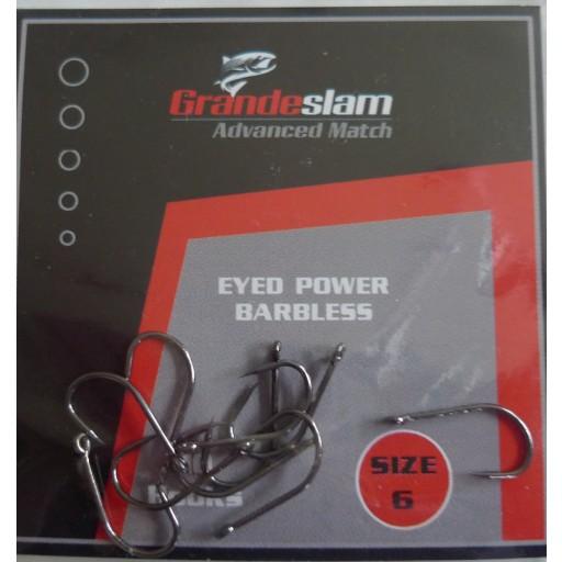 Grandeslam Advanced Power Barbless Hooks  Size 6