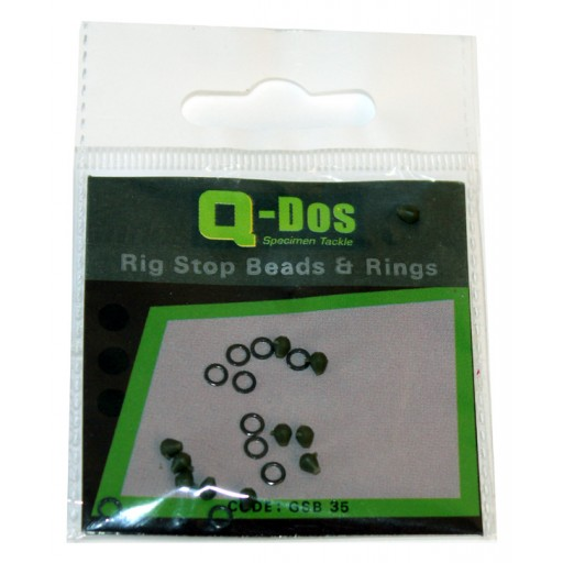 Rig Stop Beads and Rings