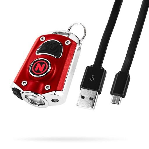 Nebo Mycro Rechargeable Keychain Flashlight 400 Lumens - 6 Light Modes