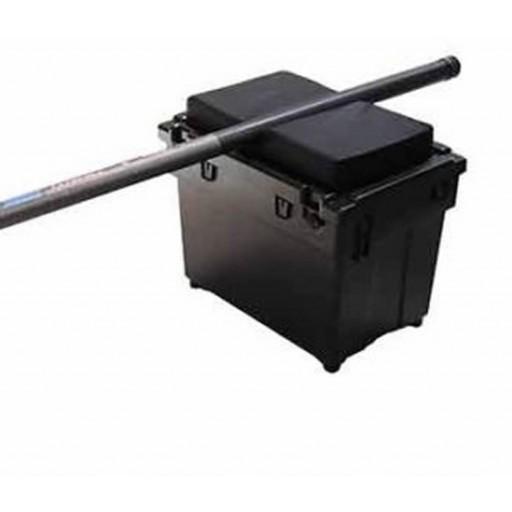 Universal Padded Pole Seat Cushion, Shakespear, Daiwa, Seat Box