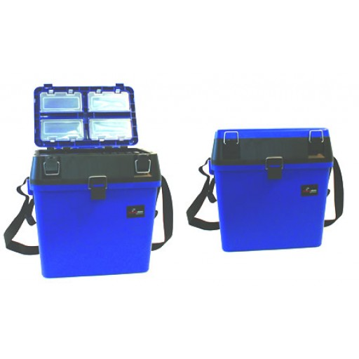 Blue Seat and Tackle box