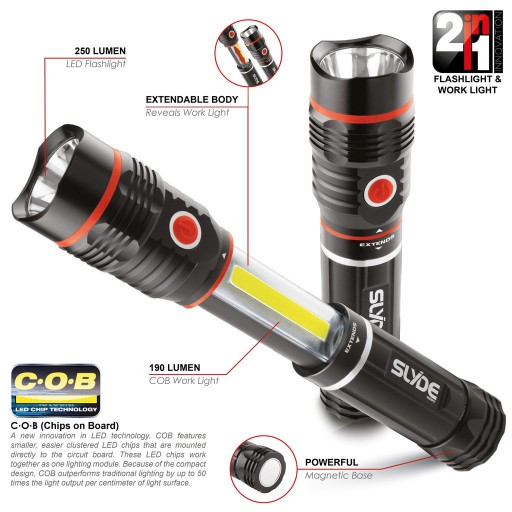SLYDE™ Super Combi COB Light