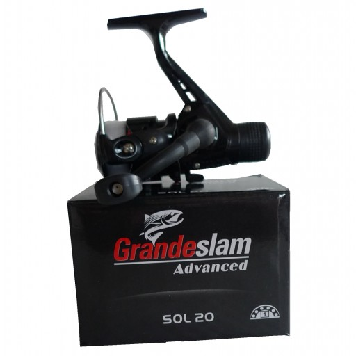 Grandeslam Advanced Sol 20 Rear Drag Reel Spooled with 5lb Line