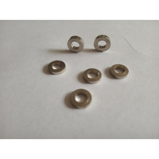 Stainless steel but rest spacer washers full sets
