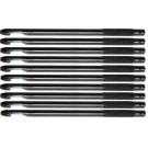 WSB Tackle Pack of Ten Alloy Disgorgers - Pack of 10 sliver colour