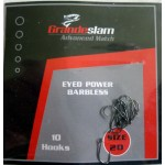 Grandeslam Advanced Power Barbless Hooks  Size 20