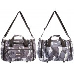 GRAY CAMO MINI Carryall ideal for fishing, travel