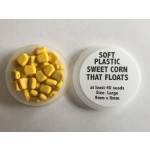 Mucilin Soft Sweetcorn Floating Large 9mm x 8mm