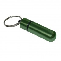 Emergency Cash Stash Capsule Key-ring Assorted Colours