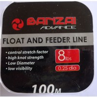 Banzai Float and Feeder Fishing Line 8LB