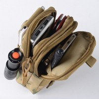 Waterproof Camo Mobile Phone Wallet Travel Sport Waist Pack Portable Outdoor Military Tactical Belt Waist Bag