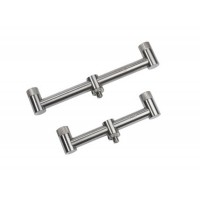 Solid Stainless Steel Front and Rear 2 Rod Buzz Bars