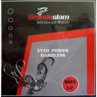 Grandeslam Advanced Power Barbless Hooks  Size 12