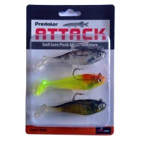 Preditor AttackSoft Lure Mini Prediators 4
