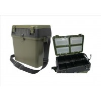 Green Seat and Tackle box