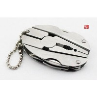 K10-1 Outdoor camping Mini Multi pocket tool emergency survival keychain pliers1