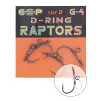 Drennan Esp D-Ring Raptor Hooks size 2