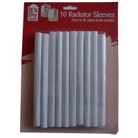 10 Radiator Sleeves Easy Fit