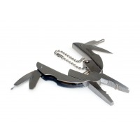 10 in 1 Stainless Steel Keyring Tool