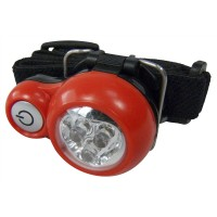 3 LED HEADLIGHT HEAD TORCH CAMPING LIGHT HIKING CYCLING and FISHING